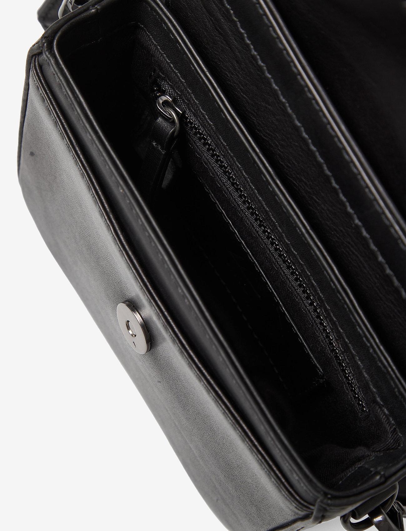 Markberg - Adora Small Crossbody Bag, Ant - väskor - black w/black - 4