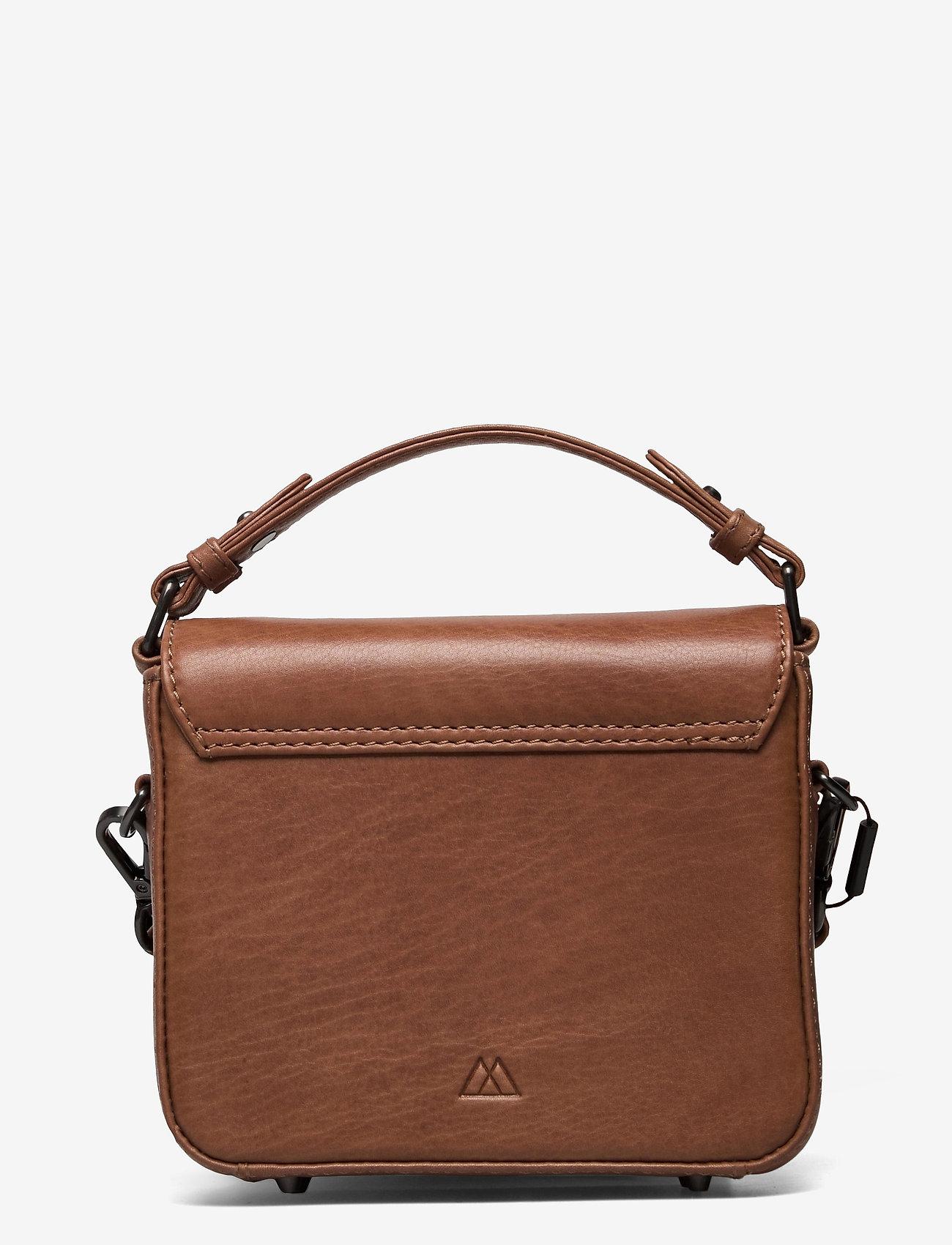Markberg - Adora Small Crossbody Bag, Ant - tassen - caramel w/black - 1