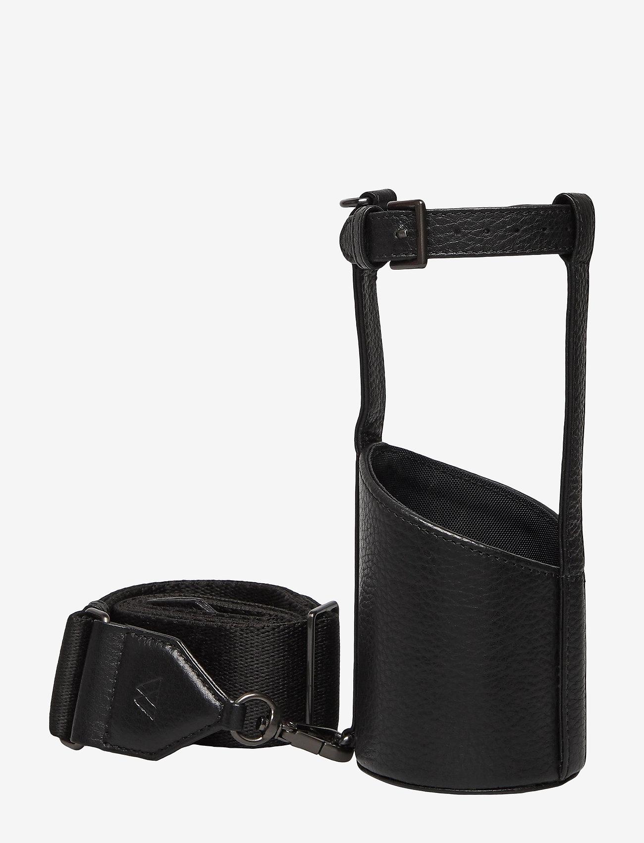 Markberg - Kenza Bottle Holder, Grain - annet - black w/black - 0