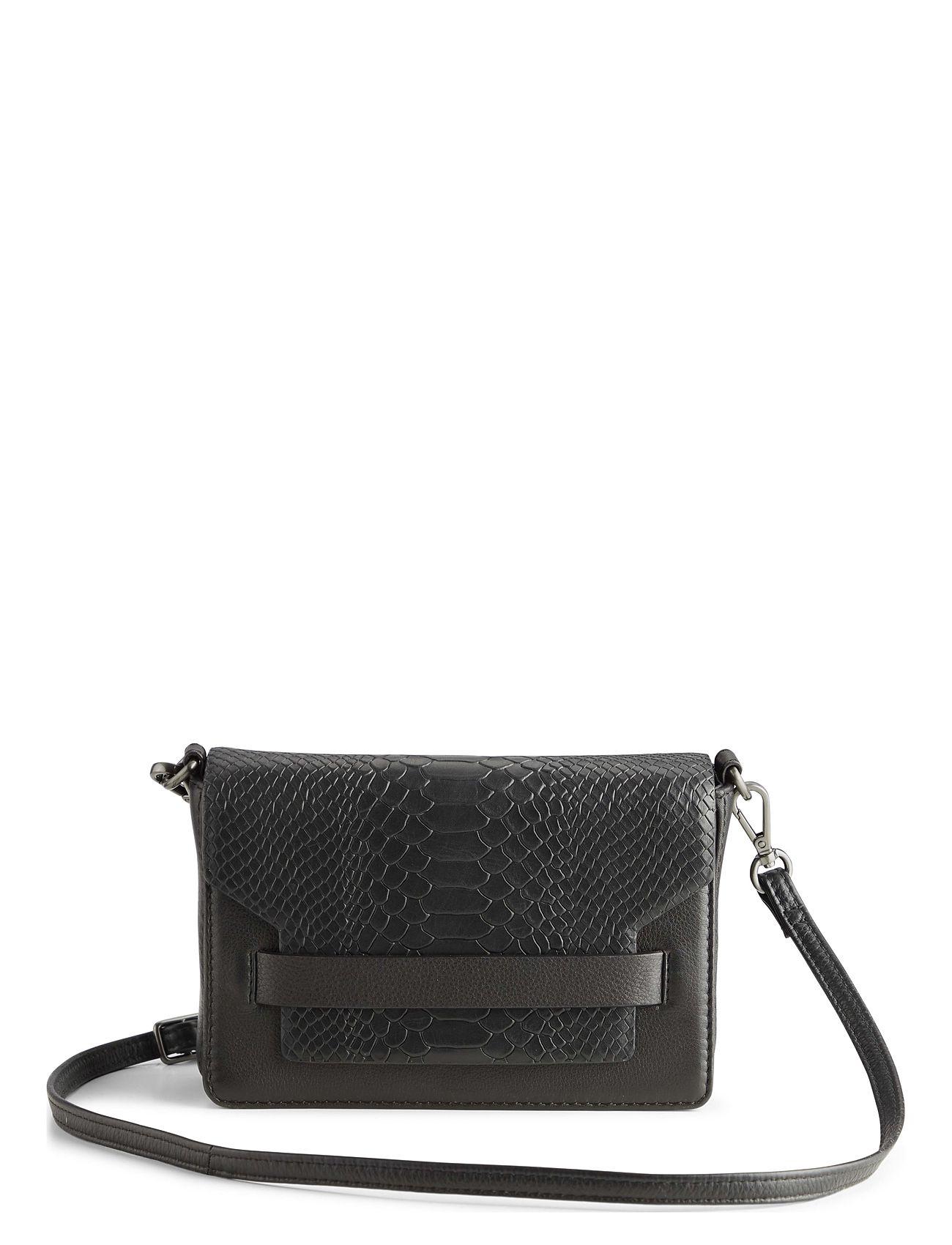 Markberg Vanya Crossbody Bag, Snake - BLACK