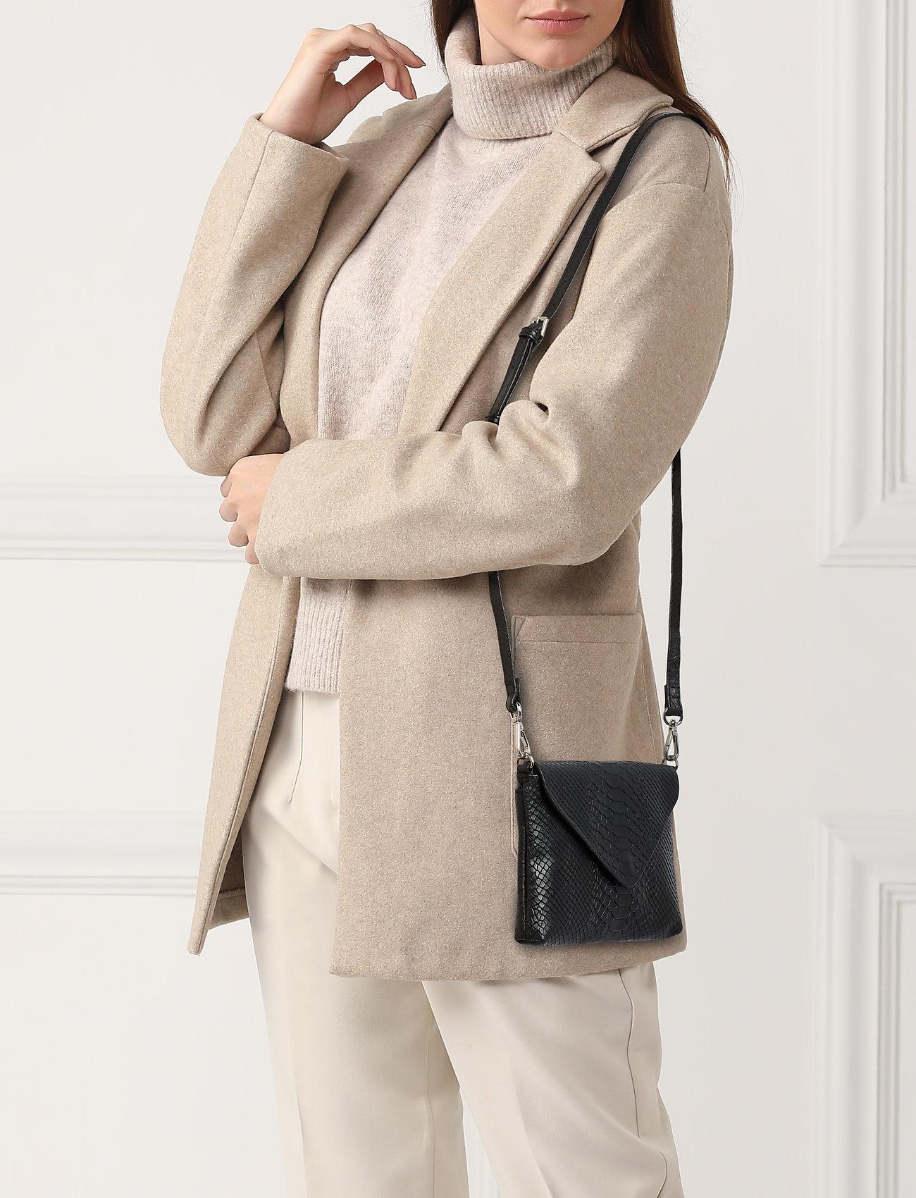 Markberg - Jenny Crossbody Bag, Snake - torby na ramię - black - 0