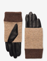 Helly Glove - BLACK W/CREME+HAZEL