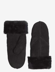 Markberg - Jasmin Sheepskin Mitten - gants - black - 1