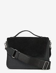 Markberg - Luna Crossbody Bag, Suede Mix - black - 0