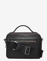 Markberg - Kyla Crossbody Bag - handväskor - black w/black - 0