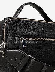 Markberg - Kyla Crossbody Bag - handväskor - black w/black - 3
