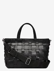 Markberg - Vita Shopper, Antique - bags - black w/black - 0