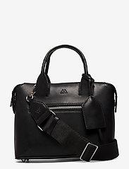 Markberg - Abrielle Small Bag, Antique - väskor - black w/black - 0