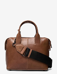 Abrielle Small Bag, Antique - CARAMEL W/BLACK