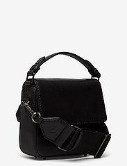 Markberg - Adora Small Crossbody Bag, Ant - väskor - black w/black - 2