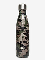 Rebottle 500 ml, Printed - CAMOUFLAGE GREEN W/SILVER