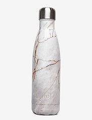 Rebottle 500 ml, Printed - MARBLE/NUDE W/SILVER