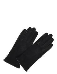 Markberg - Kath Glove, Suede - gants - black - 0