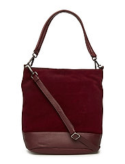 Ulrika Bag, Suede - BURGUNDY
