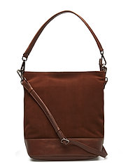 Ulrika Bag, Suede - CHESTNUT