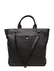 Zenia Bag, Grain - BLACK