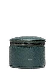 Lova Jewelry Box, S, Grain - DARK GREEN