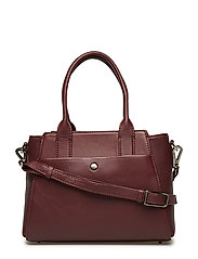 Merle Small Bag - BURGUNDY