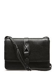 Lexa Crossbody Bag, Grain - BLACK