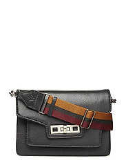 Corsica Crossbody Bag, Grain - BLACK