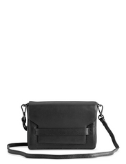 Vanya Crossbody Bag, Grain - BLACK