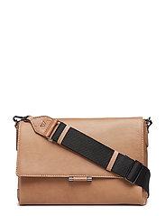 Mika Crossbody Bag, Antique - CAMEL
