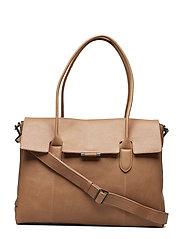 Kayla Work Bag, Antique - CAMEL