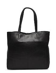 Jayda Shopper, Antique - BLACK