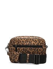 Elea Crossbody Bag, Leopard - LEOPARD W/BLACK