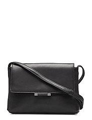 Ellen Crossbody Bag, Grain Mix - BLACK
