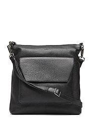 Joanna Crossbody Bag, Grain - BLACK