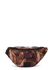 Elinor Bum Bag, Recycled - WATERCOLORING W/BLACK