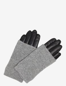 Helly Glove - hansker - black w/grey