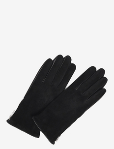 Kath Glove, Suede - gloves - black