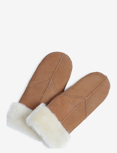 Jasmin Sheepskin Mitten - gloves - cognac