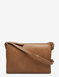 Vera Crossbody Bag, Antique - CAMEL