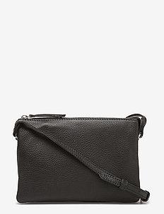 Vera Crossbody Bag, Grain - BLACK