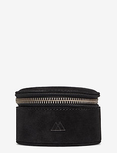 Lova Jewelry Box, L, Suede - BLACK