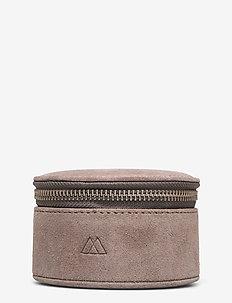 Lova Jewelry Box, L, Suede - korurasiat - stone grey