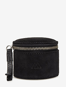 Lova Jewelry Box, S, Suede - BLACK