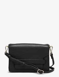 Vanya Crossbody Bag, Grain - sacs à bandoulière - black w/gold