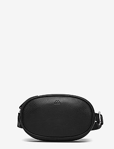 Eloise Bum Bag, Grain - saszetka nerka - black