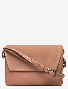 Rayna Crossbody Bag, Antique M - shoulder bags - caramel