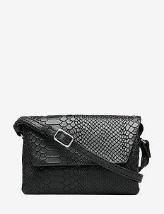 Rayna Crossbody Bag, Snake - na ramię - black