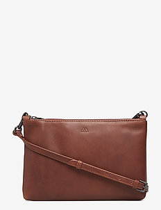 Zelda Crossbody Bag, Antique - CHESTNUT