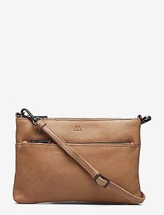 Demi Crossbody Bag, Antique - CAMEL