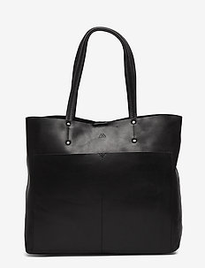 Jayda Shopper, Antique - BLACK
