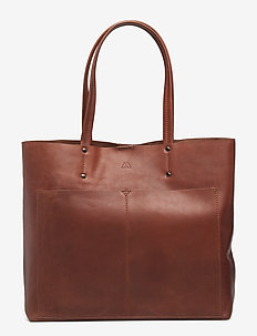 Jayda Shopper, Antique - shoppers - chestnut