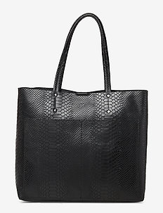 Jayda Shopper, Snake - BLACK