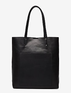 Antonella Shopper, Antique - BLACK